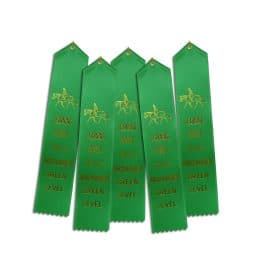 5 ribbons for Green HM