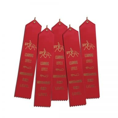 5 ribbons for Red HM