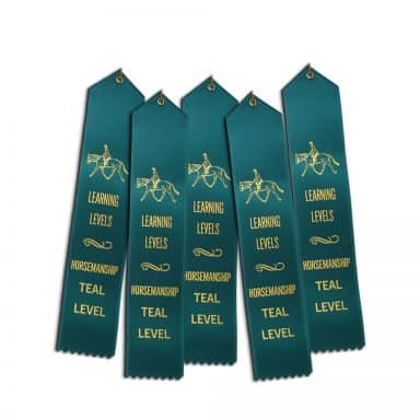 5 ribbons for Teal HM