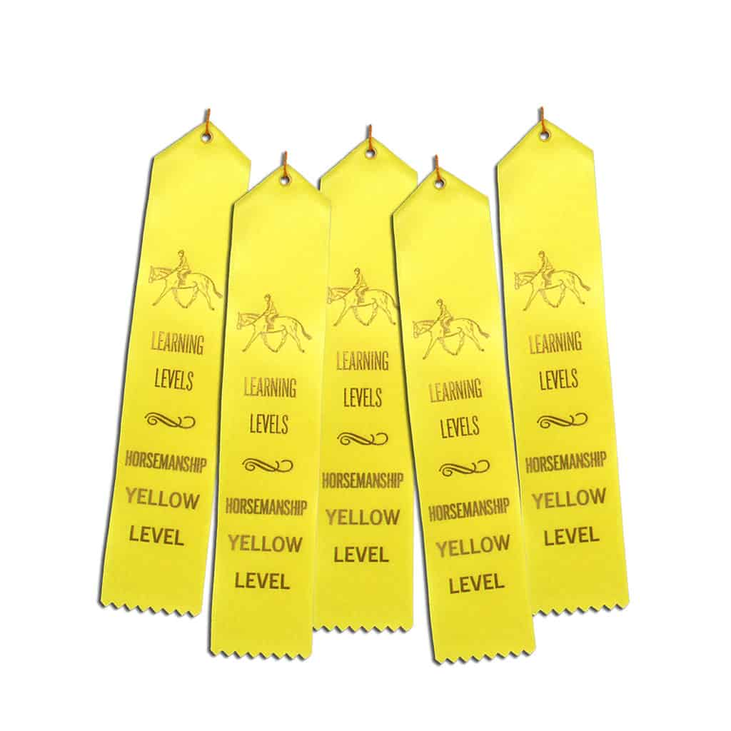 5 ribbons for Yellow HM