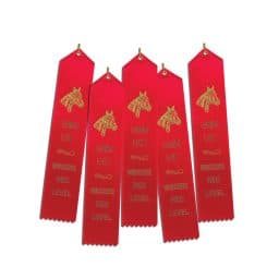 5 ribbons for Red HS