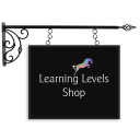 Learning Levels Shop sign