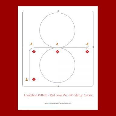 Red Level equitation patterns