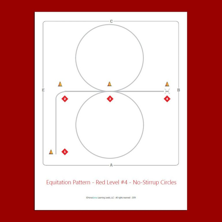 Red Level equitation patterns