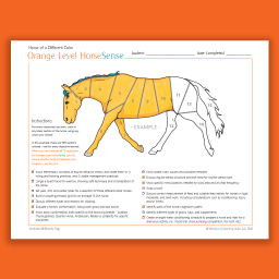 example page from Orange HS Horse of a Different Color