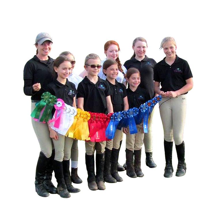 HorseSense Riding Academy show team