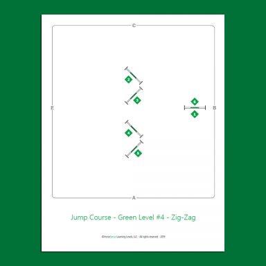 Jump Course for Green Level Horsemanship