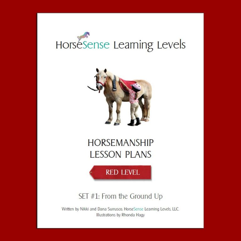 Red Level horsemanship lesson plans