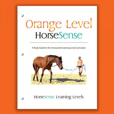 Orange Level HorseSense Study Guide cover