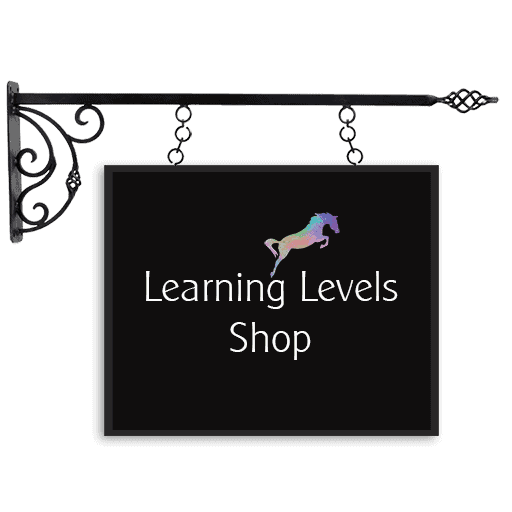 Learning Levels Shop sign