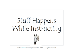 stuff happens cards for instructors